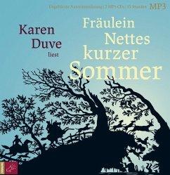 Fräulein Nettes kurzer Sommer, 2 MP3-CD - Duve, Karen