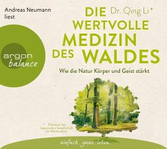 Die wertvolle Medizin des Waldes, 3 Audio-CDs - Li, Qing