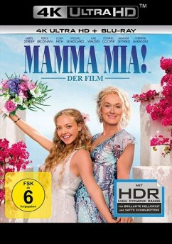 Mamma Mia! - Der Film (4K Ultra HD + Blu-ray) - Meryl Streep,Amanda Seyfried,Pierce Brosnan