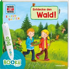BOOKii WAS IST WAS Kindergarten Entdecke den Wald - Weller-Essers, Andrea; Steinstraat, Johann
