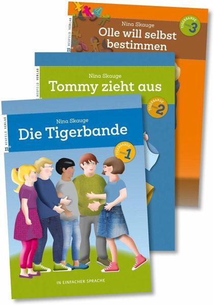 Die Tigerbande - in einfacher Sprache - Skauge, Nina