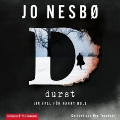 Durst, 2 MP3-CDs - Nesbø, Jo