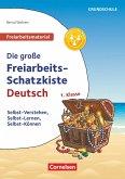 Deutsch Klasse 1 - Die große Freiarbeits-Schatzkiste