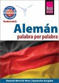 Alemán - palabra por palabra (Deutsch als Fremdsprache, spanische Ausgabe)