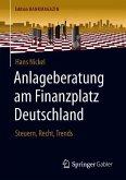 Anlageberatung am Finanzplatz Deutschland