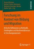 Forschung im Kontext von Bildung und Migration