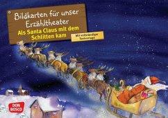 Als Santa Claus mit dem Schlitten kam. Kamishibai Bildkartenset.