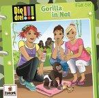 Gorilla in Not / Die drei Ausrufezeichen Bd.58 (1 Audio-CD)