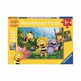 Ravensburger 07624 - Ausflug mit Biene Maja, Puzzle, 2 x 12 Teile