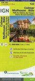 IGN Karte, Tourisme et vélo Colmar Mulhouse Bâle