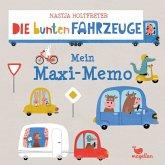 Die bunten Fahrzeuge - Mein Maxi-Memo (Kinderspiel)