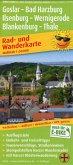 PublicPress Rad- und Wanderkarte Goslar - Bad Harzburg - Ilsenburg - Wernigerode, Blankenburg - Thale