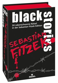 black stories Sebastian Fitzek Edition (Spiel)