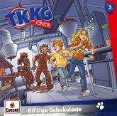 TKKG Junior - Giftige Schokolade, 1 Audio-CD