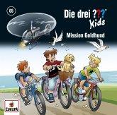 Die drei ??? Kids - Mission Goldhund, 1 Audio-CD