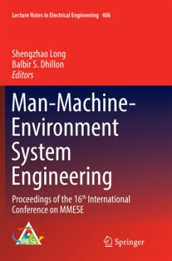 Man-Machine-Environment System Engineering: Pro...