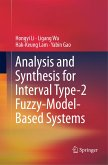 Analysis and Synthesis for Interval Type-2 Fuzzy-Model-Based Systems