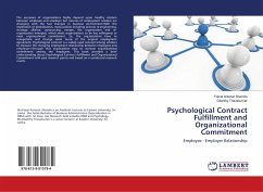 Psychological Contract Fulfillment and Organizational Commitment