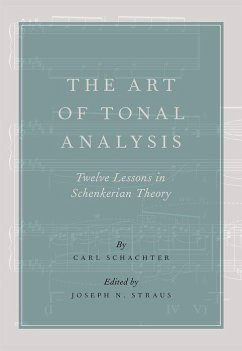The Art of Tonal Analysis: Twelve Lessons in Sc...