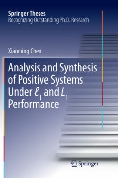 Analysis and Synthesis of Positive Systems Unde...