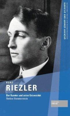Kurt Riezler - Hammerstein, Notker