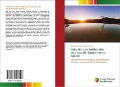 Subsídios às tarifas dos serviços de Saneamento Básico