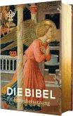 Die Bibel mit Bildmotiven von Engeln