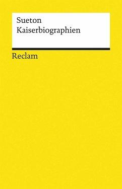 Kaiserbiographien - Sueton