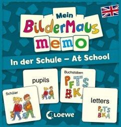 Mein Bildermaus-Memo - Englisch - In der Schule...
