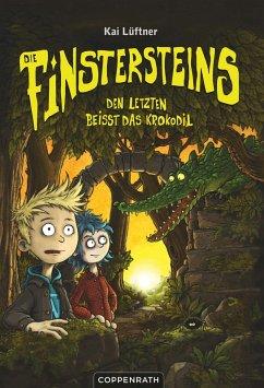 Den Letzten beißt das Krokodil / Die Finstersteins Bd.3 (eBook, ePUB) - Lüftner, Kai