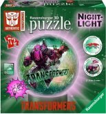 Ravensburger 11756 - Transformers NAchtlicht, 3D Puzzleball, Set, 72 Teile