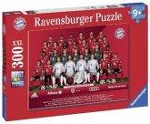 Ravensburger 13249 - FC Bayern München Saison 2018/19, Puzzle, 300 Teile
