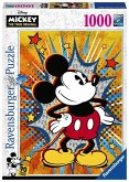 Ravensburger 15391 - Retro Mickey Puzzle, 1000 Teile