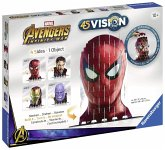Ravensburger 18047 - Avengers Infinity Spider-Man & Co, 4S Vision, Bausatz, Figur