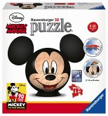 Ravensburger 11761 - Disney, Mickey Mouse 3D Puzzle Ball, 108 Teile
