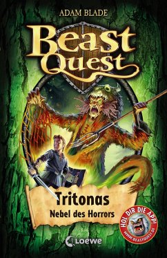 Tritonas, Nebel des Horrors / Beast Quest Bd.45 (eBook, ePUB) - Blade, Adam