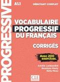 Vocabulaire progressif du français. Niveau débutant complet - 3ème édition. Corrigés + Online