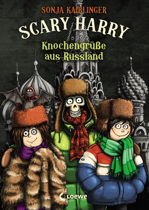 Buch-Reihe Scary Harry von Sonja Kaiblinger