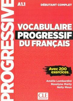 Vocabulaire progressif du français. Niveau débutant complet. Schülerbuch + mp3-CD + Online