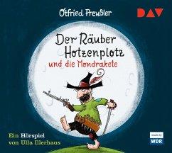 Der Räuber Hotzenplotz und die Mondrakete / Räuber Hotzenplotz Bd.4 (1 Audio-CD) - Preußler, Otfried