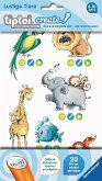 Ravensburger 00908 - tiptoi® create, Stickerbögen Lustige Tiere