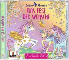 Das Fest der Wünsche / Einhorn-Paradies Bd.3 (1 Audio-CD) - Blum, Anna