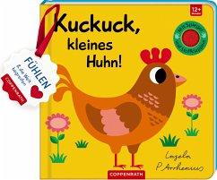 Mein Filz-Fühlbuch: Kuckuck, kleines Huhn! - Arrhenius, Ingela P.