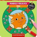 Mandala-Malblock Tiere