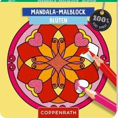 Mandala-Malblock Blüten