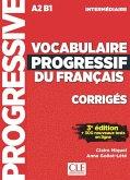 Vocabulaire progressif du français. Niveau intermédiaire - 3ème édition. Corrigés