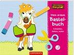 Mein kleiner Ponyhof: Mein erstes Bastelbuch