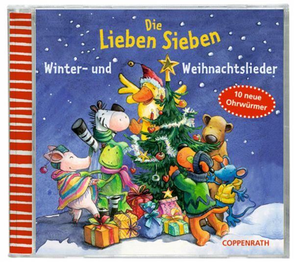 Weihnachtslieder Cd.Die Lieben Sieben Winter Und Weihnachtslieder 1 Audio Cd