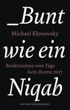 Bunt wie ein Niqab