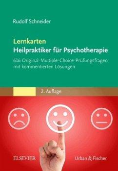 Lernkarten Heilpraktiker für Psychotherapie - Schneider, Rudolf